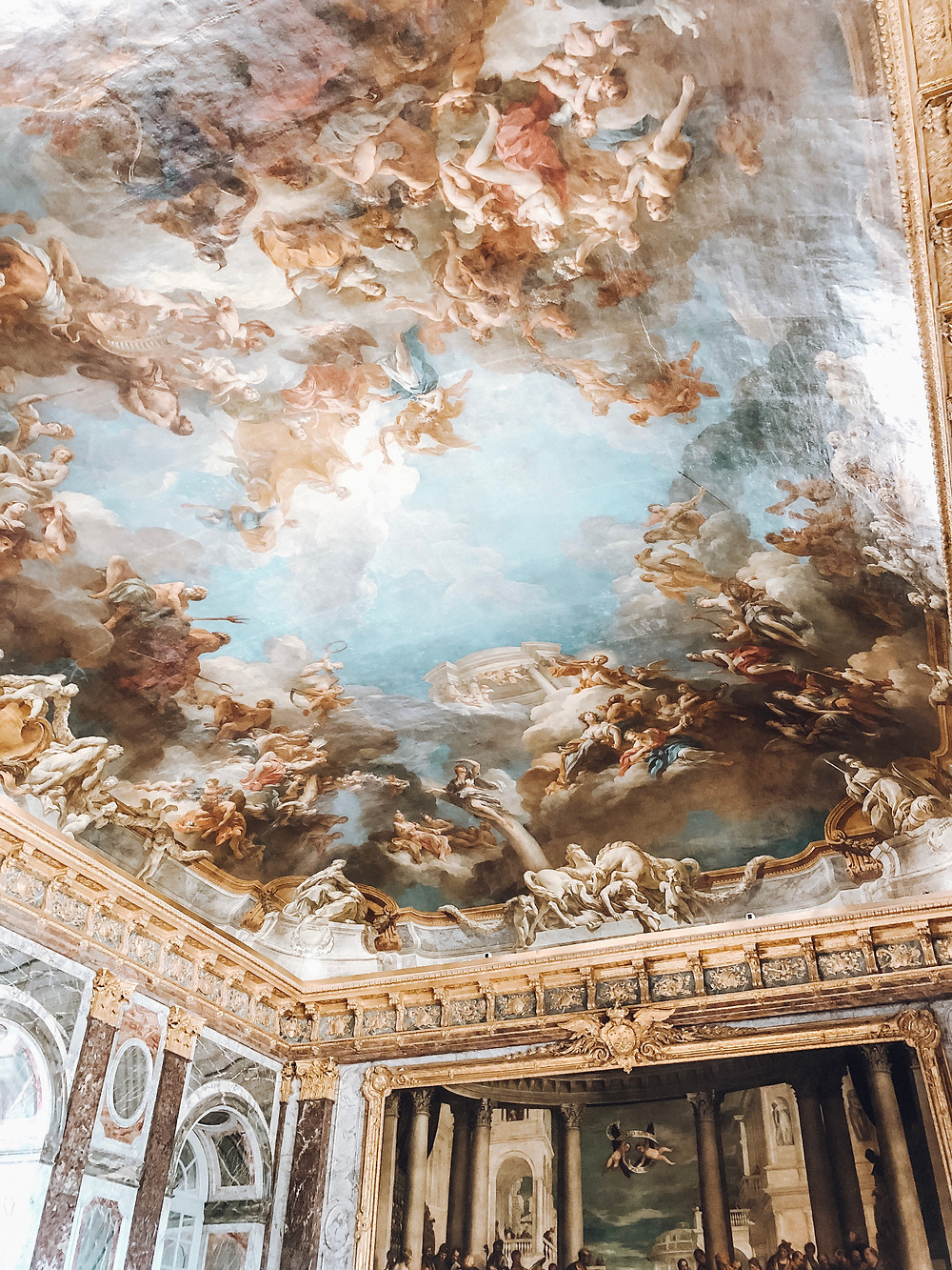 Room inside Palace of Versailles