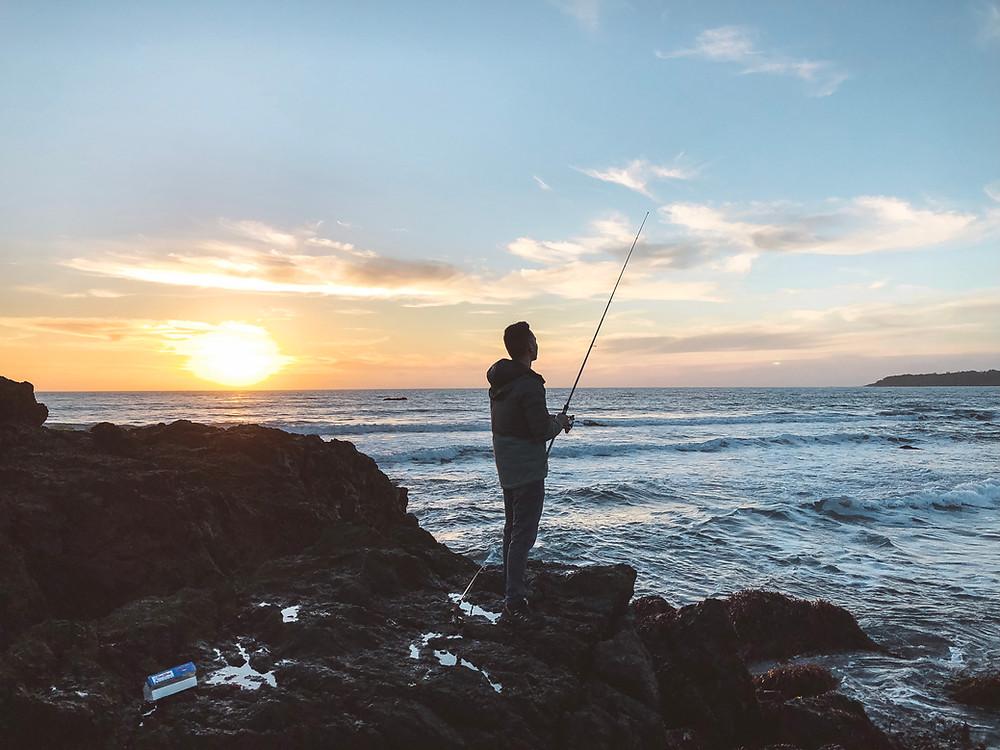 san simeon saltwater fishing