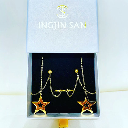 SUPER STAR Tassel Earings
