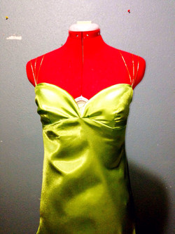 Bias Dress (Detail View)