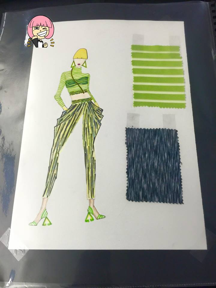 Knit Wear Illustration