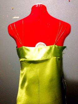 Bias Dress (Back View)