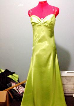Bias Dress (Font View)