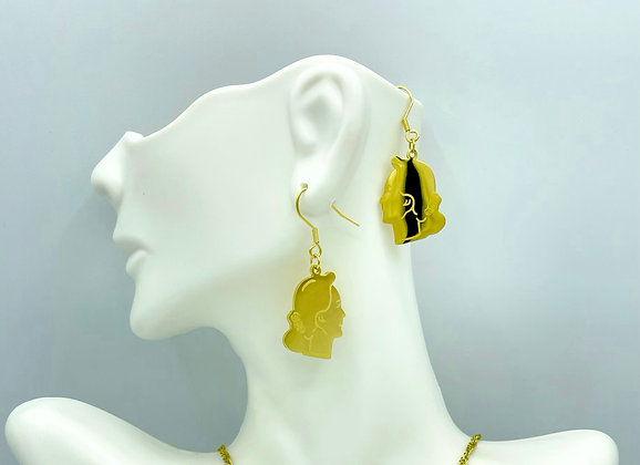 """THE LADY """"A-MAY SUU"""" (Earrings only)"""