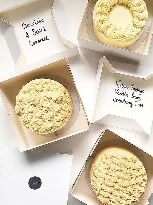 Wedding (3 mini cake) Tasting Box