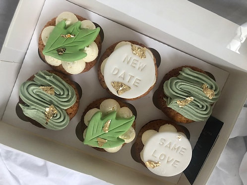 'Just to Say' Same Love New Date Cupcakes