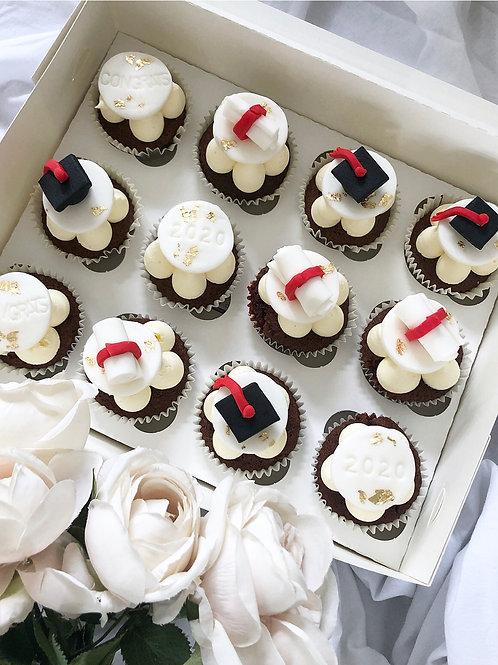 'Just to Say' Graduation  Cupcakes