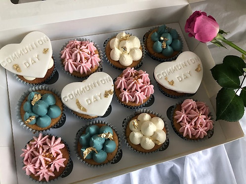 'Just to Say' Communion/Christening Cupcakes