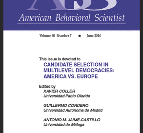 Candidate Selection in a Multilevel State: the Case of Spain