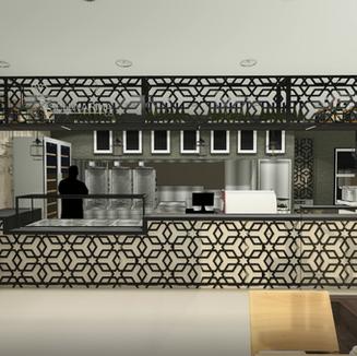 Schwarma Company - Restaurant Interiors