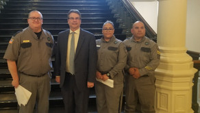 AFSCME Correctional Officers from Lubbock Visit Capitol to Push for Higher Pay, Stronger Pensions