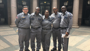 AFSCME Correctional Officers From Palestine Visit State Capitol to Advocate for Pay Increases