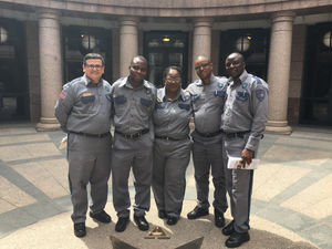 AFSCME Correctional Officers From Palestine Visit State