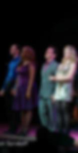 Derek Roland with Tonya Pinkins, Brian d'Arcy James and Elizabeth Stanley