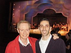 Derek Roland with Randy Skinner