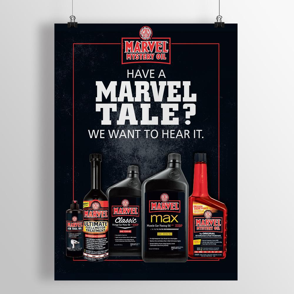 Marvel Shop Poster