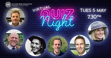 Virtual Quiz Night sign MDS special gues