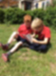 Batheaston Primary reading partners outd