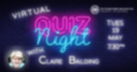 Virtual Quiz Night sign Clare Balding-01