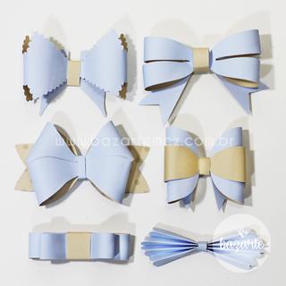 Kit Laços (6 modelos)