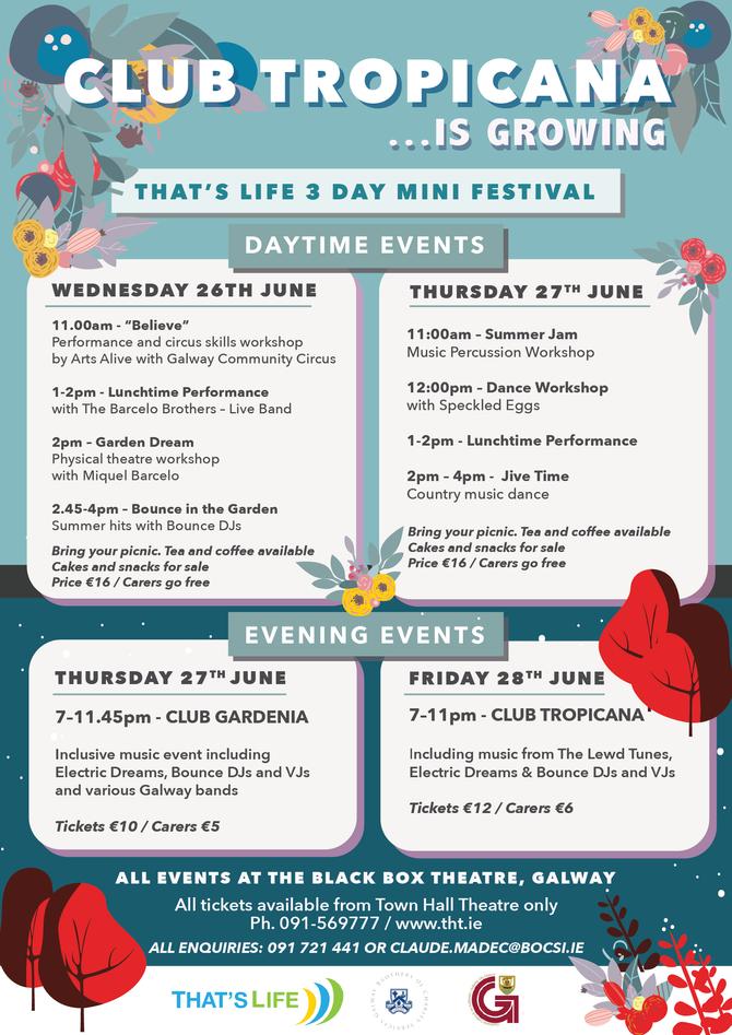 3 Day Mini Festival!