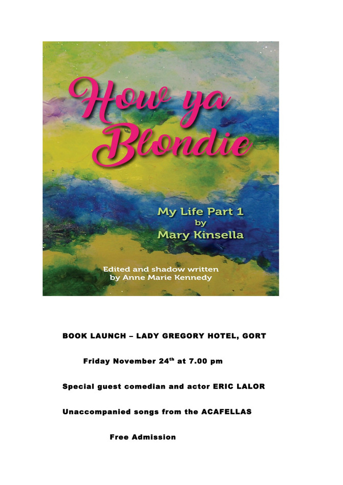 Mary Kinsella's Book Launch