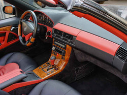 MERCEDES-BENZ W129 ORANGE