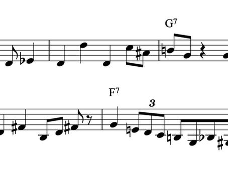 """ペトルチアーニとペデルセンによる「オレオ」の演奏について """"Oleo"""" by M. Petrucciani (pinao) & NHOP (bass)"""