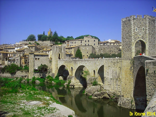 pont romànic de Besalú