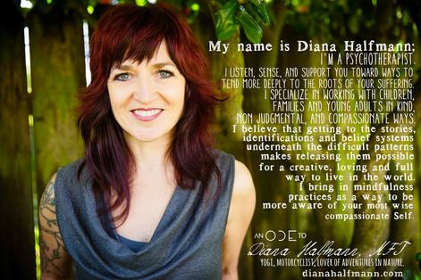 Diana Halfmann - Compassionate Listener