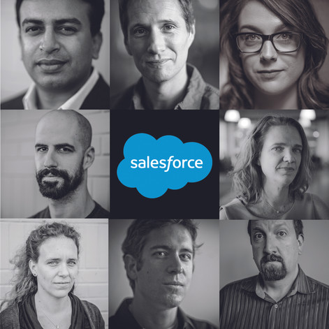 Salesforce.com Publicity Portraits