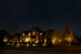 Silver Bells, Boise landscape lighting, outdoor lighting, house lighting, yard lights, pathway lights