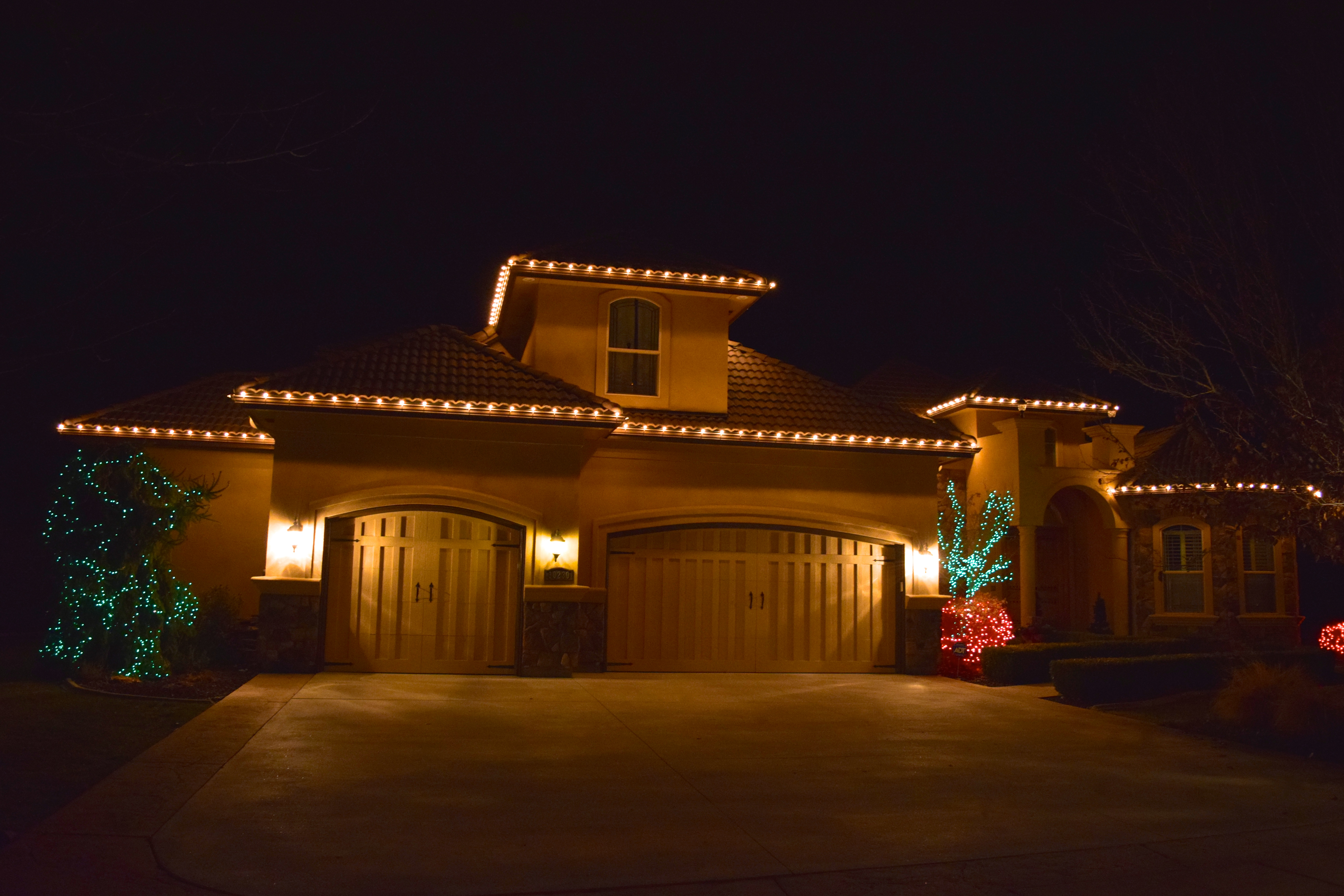 Incandescent Christmas Lights - Clear