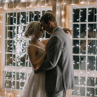 Wedding Lighting by Silver Bells at Still Water Hollow - Nampa, ID