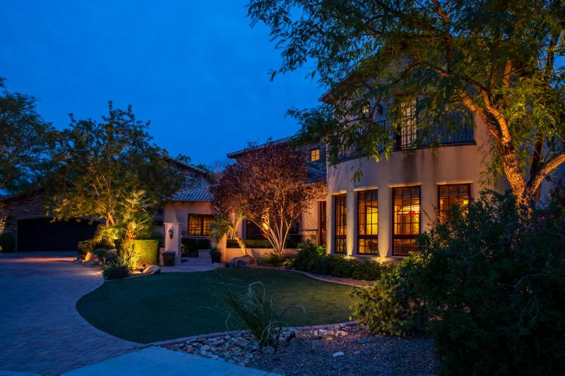 Boise landscape lighting