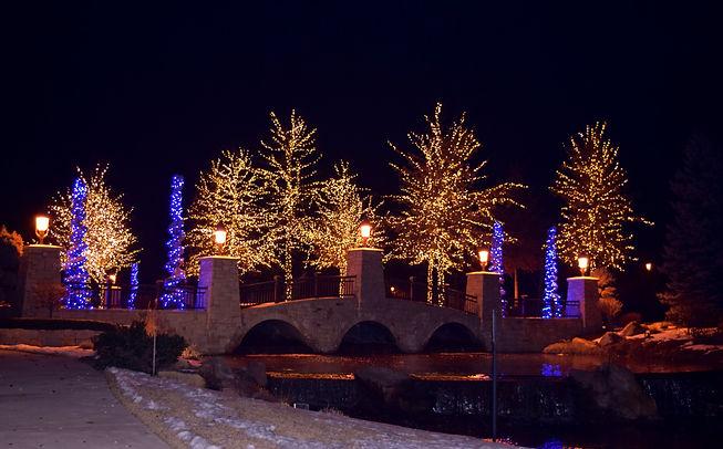 HOA Christmas lights - professional holiday lighting