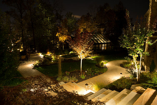 barkyard lights, pathway lights, house lights, walkway lights, tree light, curb appeal, Boise, Silve Bells