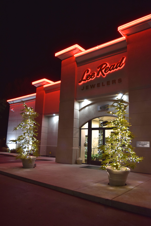 Lee Read Jewelers - LED Christmas Lights - Pure White