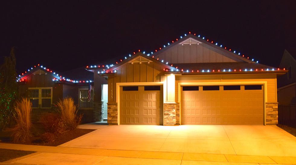 LED Christmas Lights - Candy Cane