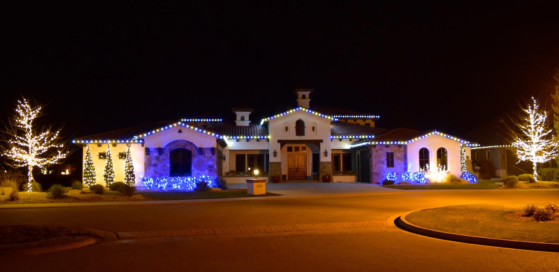 LED Christmas Lights - Warm White_Blue_P