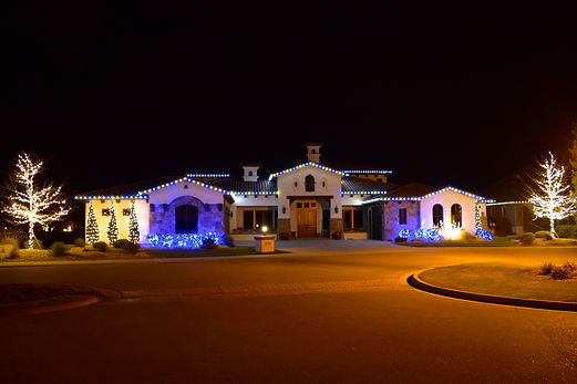 Treasure Valley Christmas lights, holiday light installers, Christmas light installation, professional Christmas lights