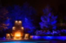 landscape lighting, dimmable, dimming, light beam, tree lights, up lights, Silver Bells, Boise landscape lighting, color change
