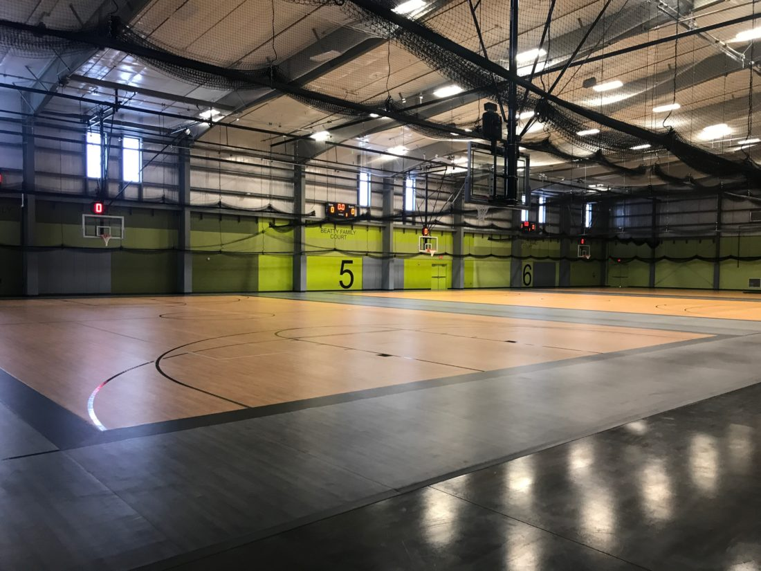 Salina Fieldhouse Court 5