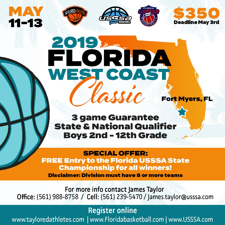 ad30e3610d1 May 11 Florida West Coast Classic