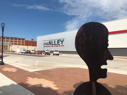 The Alley & Sculpture Head