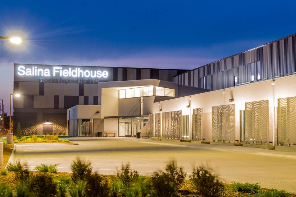 Salina Fieldhouse Outside