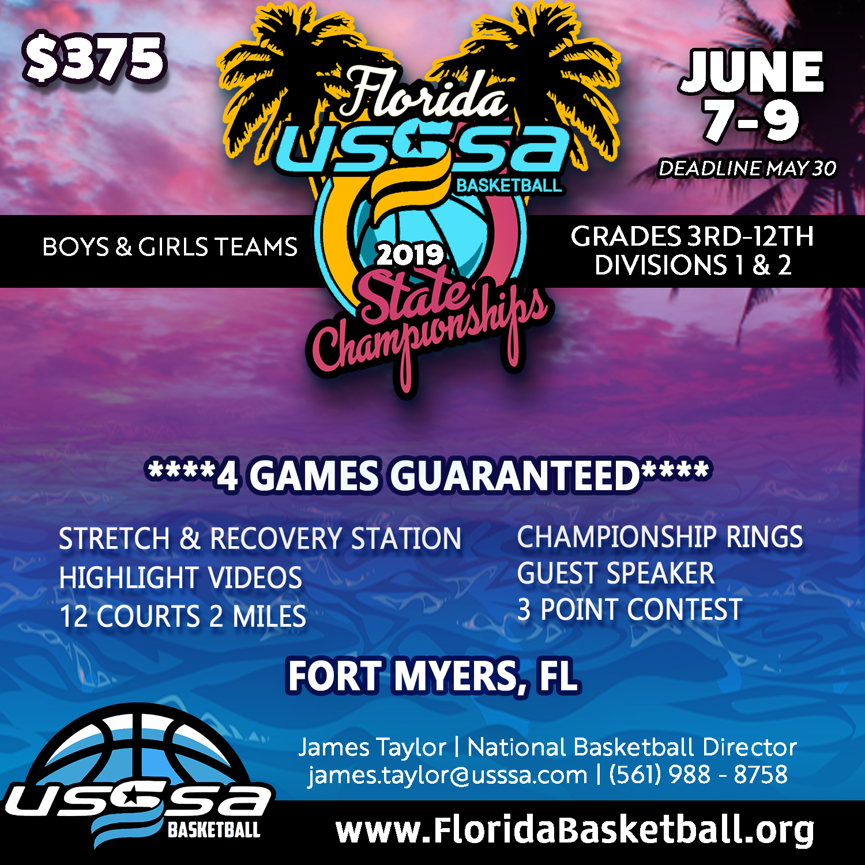 2bb089dba46 Jun. 7 Florida State Championship