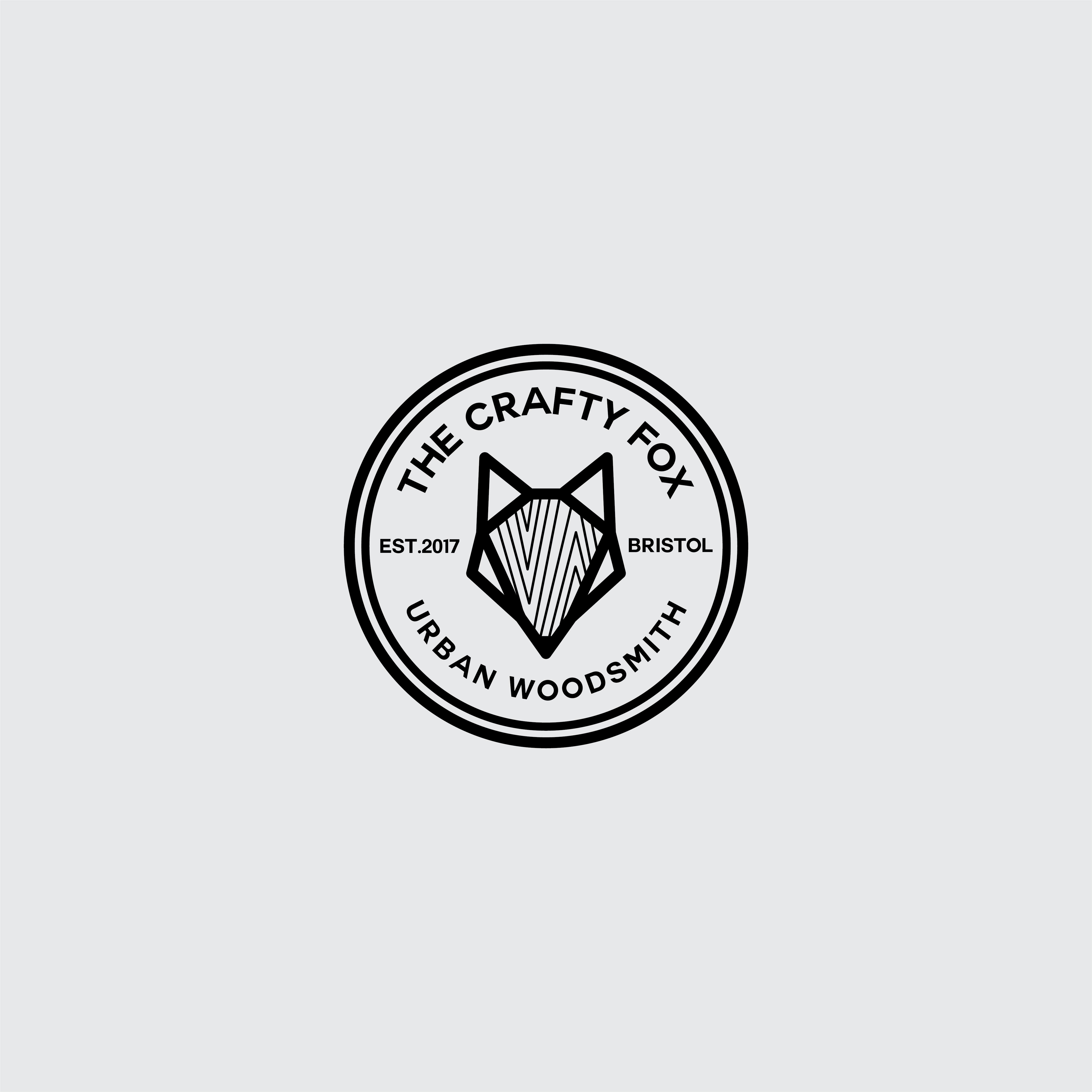 TheCraftyFox_Logo_Instagram_Size_Grey-01