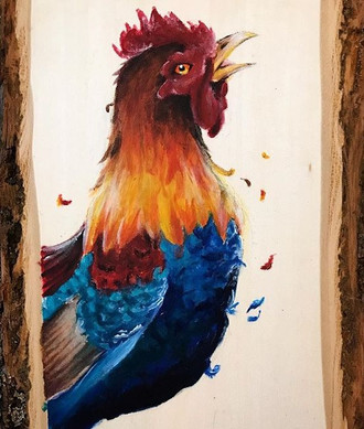Rooster that Woke the Sun