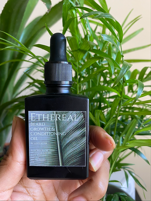 Ethereal Mens Beard Growth & Conditioning Oil 1oz